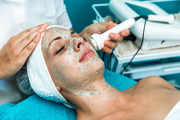 Woman receiving an Ultra Rejuvenating Facial