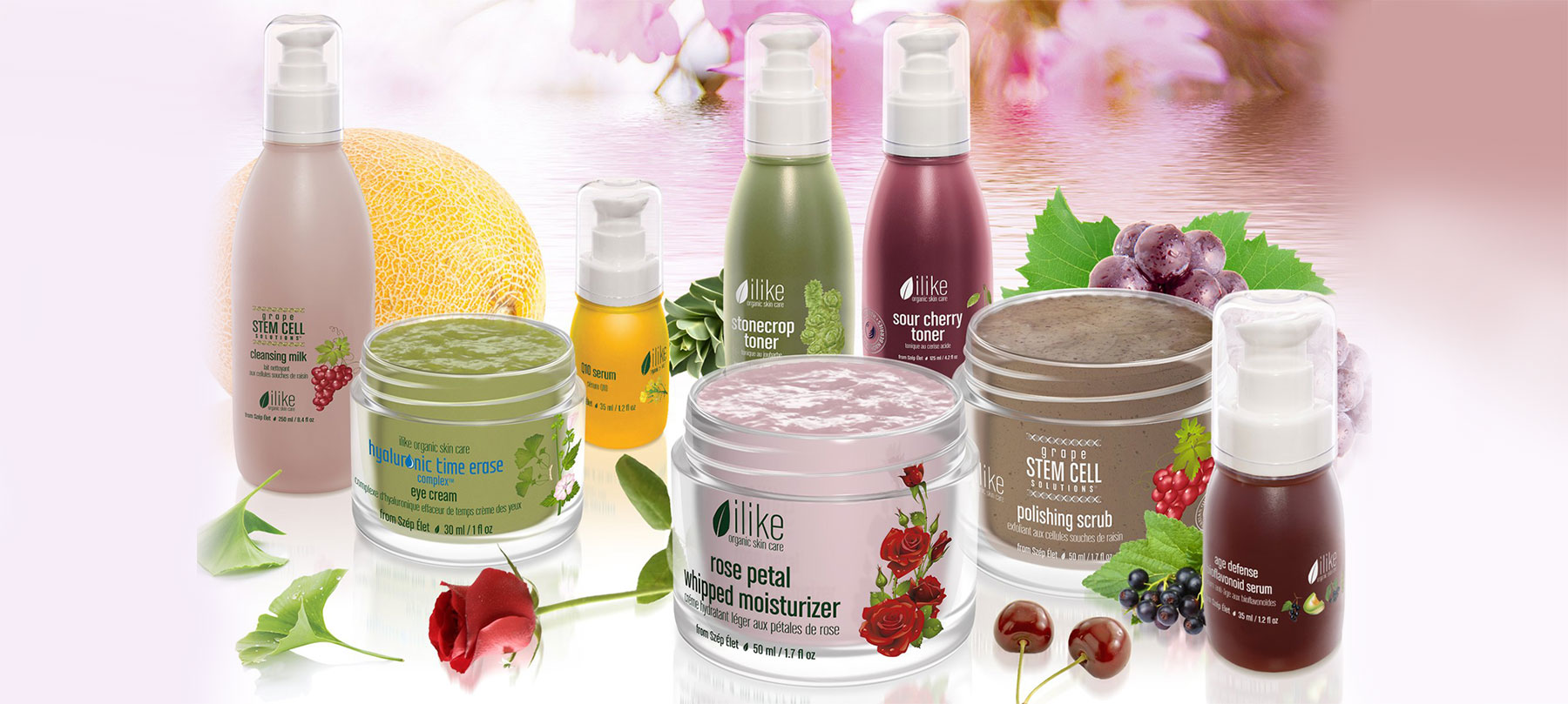 Photo of 8 ilike organic skincare products