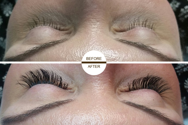 eyelash extensions by Nataliya